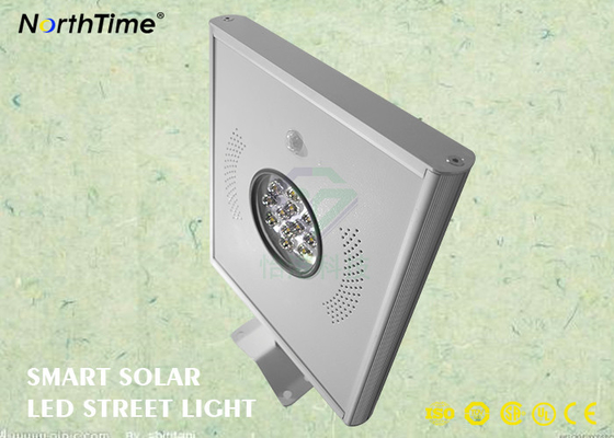 China PIR-Sensor Solarstraßenlaterne12 Watt-LED 1200 - 1300 Lumen 115LM/W usine